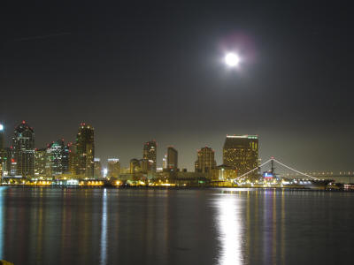 San Diego Full Moon